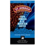 ST. JAMAICA 100% BLUE MOUNTAIN ® COFFEE- ROASTED WHOLE BEANS