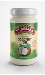 ST.JAMAICA 100% All Natural Coconut Oil